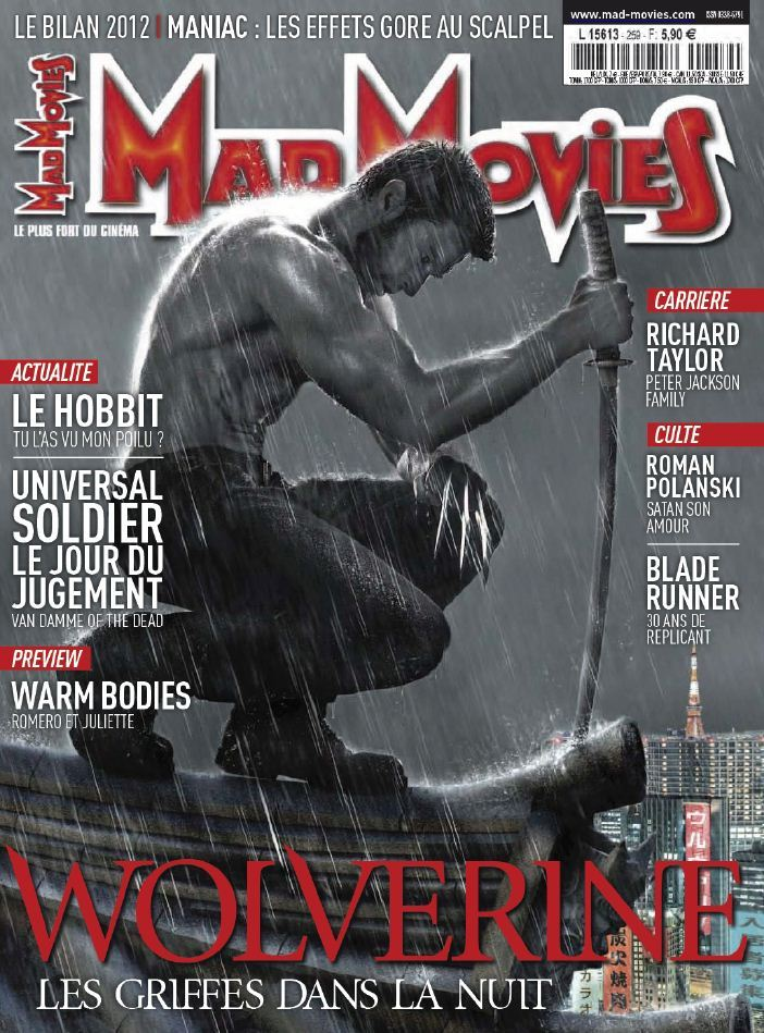 Mad Movies N°259 Janvier 2013