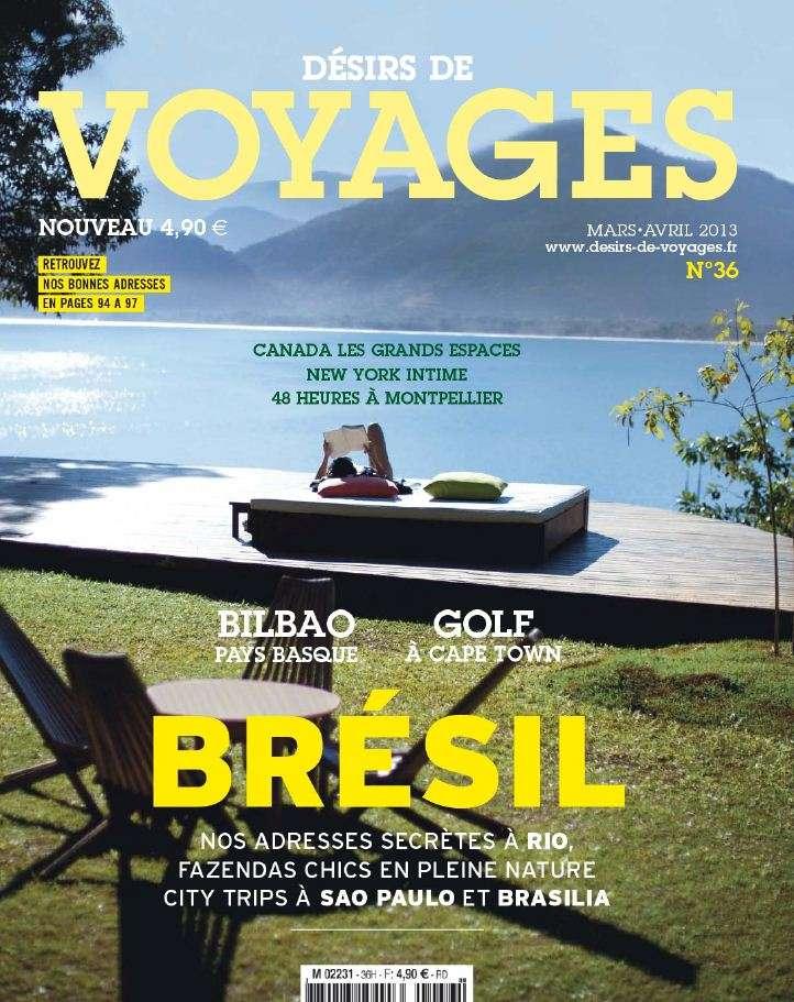 Désirs de Voyages N°36 Mars Avril 2013