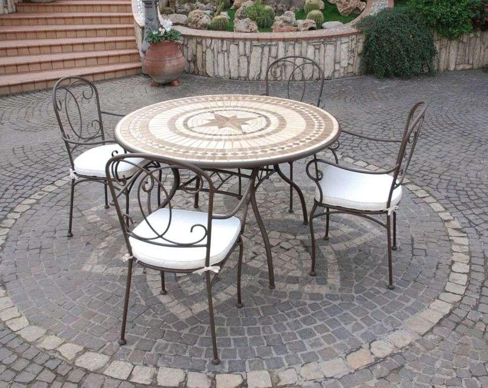 Tavolo In Ferro Battuto Da Esterno : Tavoli in ferro battuto da esterno eccezionale set marchesa ferro