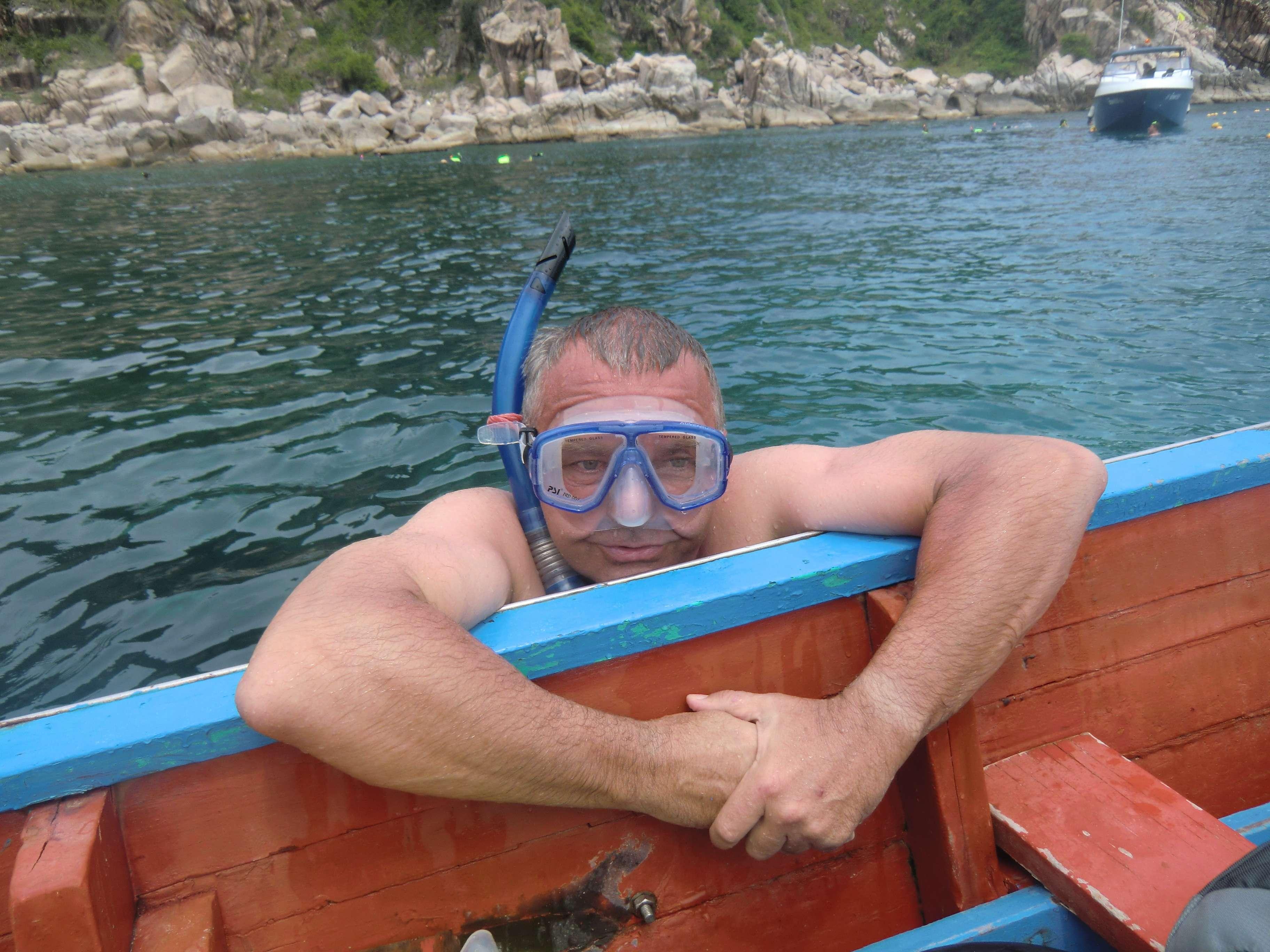 Ab ins Wasser....für Pause haben wir nicht bezahlt !!!!!